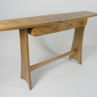 Pippy oak side table - thumb2