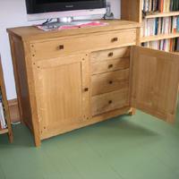 Oak Cabinet Thumb