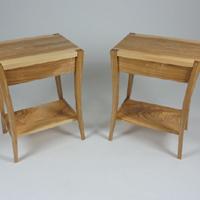 Ash bedside tables