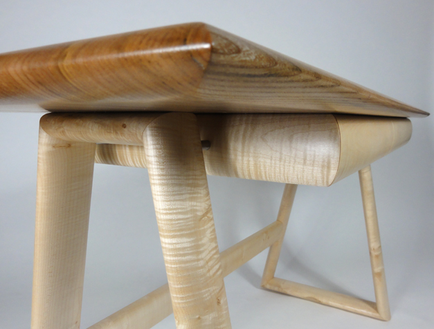 Elm & Ripple Sycamore Desk Close up